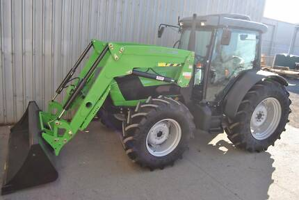 DEUTZ AGROFARM 100DT 4WD CAB TRACTOR Hexham Newcastle Area Preview
