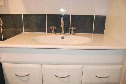Bathroom Vanities Queanbeyan left over from bathroom renovations - vanity & shaving cabinet