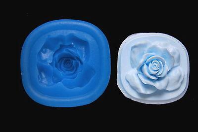 Sugarcraft Silicone Mold Sugarpaste Fondant Flower Mould Chocolate Clay Rose M