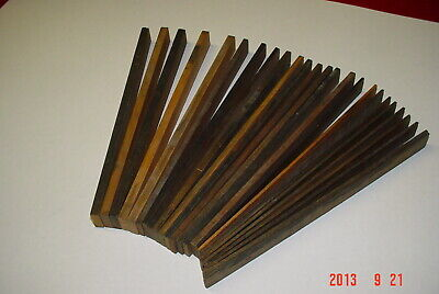 Letterpress Printing Riglets 25 Picas Long 6pt 1 1 12 2 Picas Wood Furniture