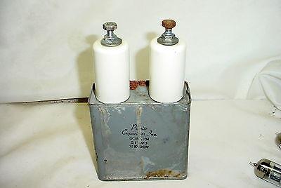 Plastic Capacitors Inc Pio Oil Capacitor High Voltage 0.1uf 15kvdcw 15000v