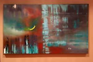 Large original paintings by Canadian artist