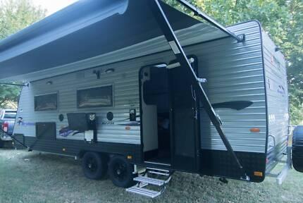 New Age Oz Classic 23ft Caravan semi off-road