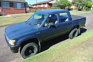 1989 Toyota Hilux Dual Cab 4X4 LPG Rutherford Maitland Area Preview