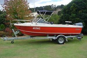 Carribean Safari 5m fish/ski boat with 140HP Yamaha outboard Lobethal Adelaide Hills Preview
