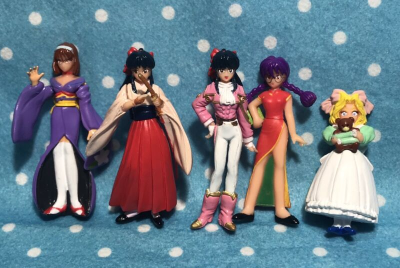 Sakura Wars BANDAI Vintage Gashapon Figure Japan