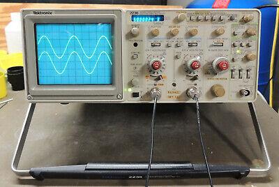 Tektronix 2236 100mhz Oscilloscope With Ctm Cald Inc Probesmanualscd