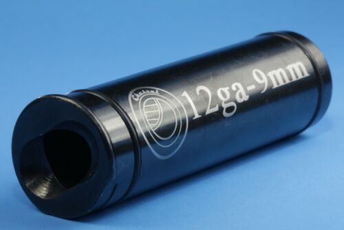 12 GA to 9mm Chamber Reducer Black Oxide