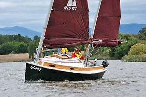 Norwalk Islands Sharpie NIS18T ketch trailer yacht folding masts Ivanhoe Banyule Area Preview