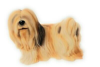 Lhasa Apso Dogs - World of Dogs Lhasa Apso Resin Figurine #5022