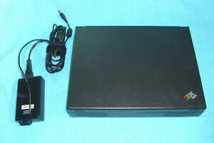IBM ThinkPad 380Z 2635 Vintage Win98 Laptop Think Pad Computer Tested AS-IS