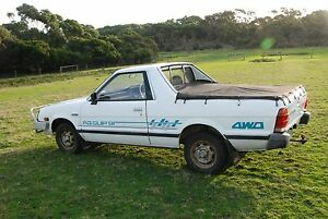 1991 Subaru GL Brumby Ute 4WD Apollo Bay Colac-Otway Area Preview