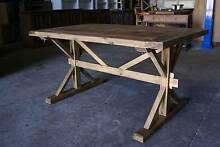NEW FRENCH INDUSTRIAL COUNTRY RECLAIMED TIMBER TABLE (111-11) Chipping Norton Liverpool Area Preview