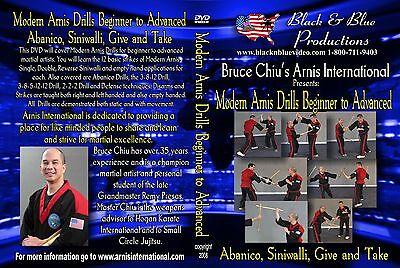 Bruce Chiu Modern Arnis Drills Beginner to Advanced