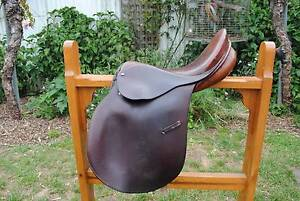 """17"""" all-purpose brown leather saddle. Warragul Baw Baw Area Preview"""