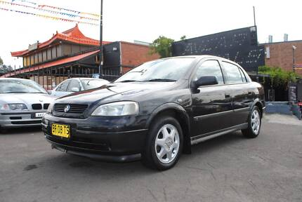 2001 Holden Astra Sedan Liverpool Liverpool Area Preview