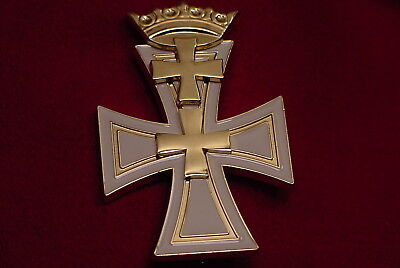 GERMAN WEIMAR REPUBLIC ERA MEDAL - DANZIG CROSS FIRST CLASS - DANZIGERKREUZ
