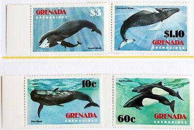 Grenada Grenadines – 1983 Whales Set – UM (MNH) (R1)