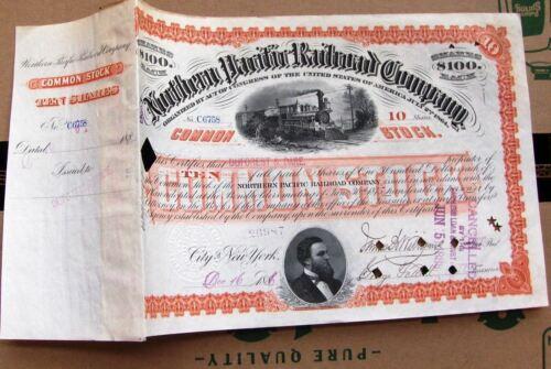 Northern Pacific Railroad Company 1880s- 1890