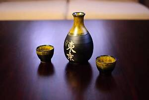 Sake bottle and cup set Lane Cove Lane Cove Area Preview