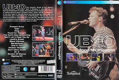 UB 40 - DVD - At Rockpalast 1981 - Food For Thought - DVD von 2009 - NEU & OVP ! ()