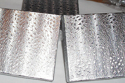 4-silver Foil Jewelry Gift Boxes 3.5 X 3.5 X 1 Free Ship Within Usa