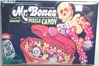 Mr. Bones Puzzle Vintage Candy Box 2