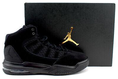 Nike Air Jordan Max Aura GS Youth Boys Basketball Shoes Size 7Y AQ9214-001 Black