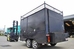 Large Heavy Duty Trailer: Total Enclosed 3.5m L x 2.1m W x 1.8m H Hemmant Brisbane South East Preview