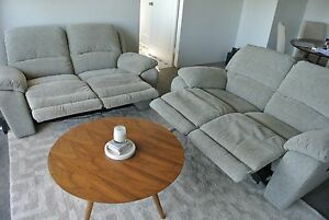 Nick Scali MOTORISED RECLINING COUCHES Cremorne North Sydney Area Preview