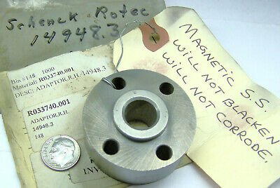 Schenck Rotec 14948.3 Nos Balancing Machine Adaptor R.h Magnetic Ss 1.9d 55id
