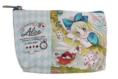 NEW Anime Alice in Wonderland Mad Hatter Tea Party Travel Pouch Makeup - Alice In Wonderland Mad Hatter Makeup