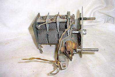 Silvertone Model 1954 AM SW Tube Radio Variable Tuning Capacitor