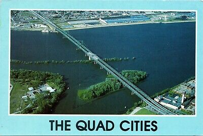 Quad Cities - Iowa-Illinois Memorial Bridge on Hwy 74 across the Mississippi for sale  Shipping to Canada