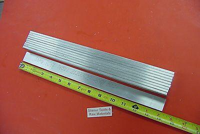 10 Pieces 316 X 1 Aluminum 6061 Flat Bar 14 Long T6511 .187 New Mill Stock