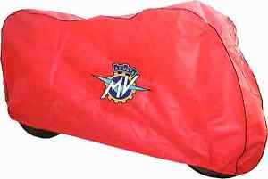 Breathable indoor Motorcycle cover Red to fit MV Agusta F4 1000 750 by DustOff