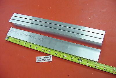4 Pieces 38 X 1-12 Aluminum 6061 T6511 Flat Bar 14 Long .375 Mill Stock