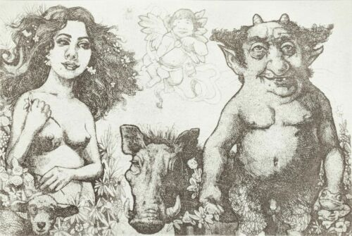 """Charles Bragg """"beauty And The Beast"""" 