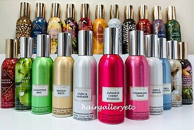 NEW BATH AND BODY WORKS HOME FRAGRANCE ROOM SPRAY PERFUME 1.5 OZ YOU -