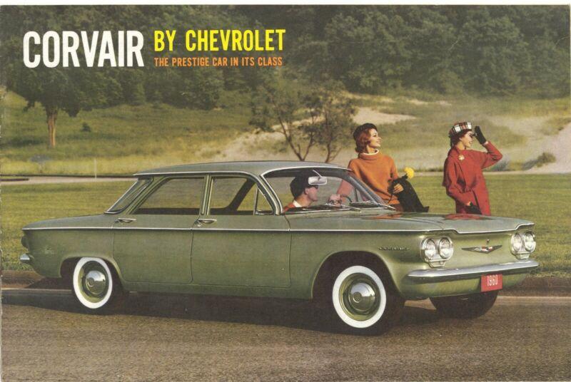 1960 Chevrolet Corvair 700 Four-Door Sedan NOS Sales Brochure