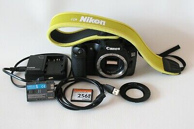 Canon Digital Adapter (Canon EOS 30D 8.2MP Digital SLR Camera w/Battery Charger 256MB Card M42 Adapter )