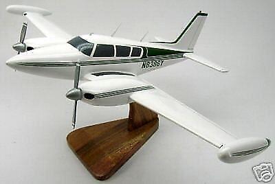 PA-30-39 Piper Comanche Twin PA39 Airplane Desk Wood Model Small New for sale  Shipping to Canada