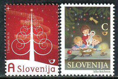 744 - SLOVENIA 2009 - Christmas and New Year - MNH Set