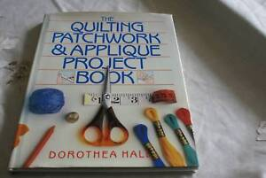 The quilting patchwork applique project book other books