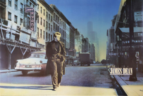 James Dean - New York City - Poster - Photograph by Stan Watts 24 x 36 inches