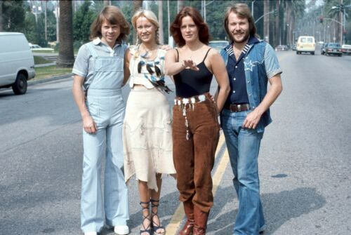 ABBA - MUSIC PHOTO #F-86
