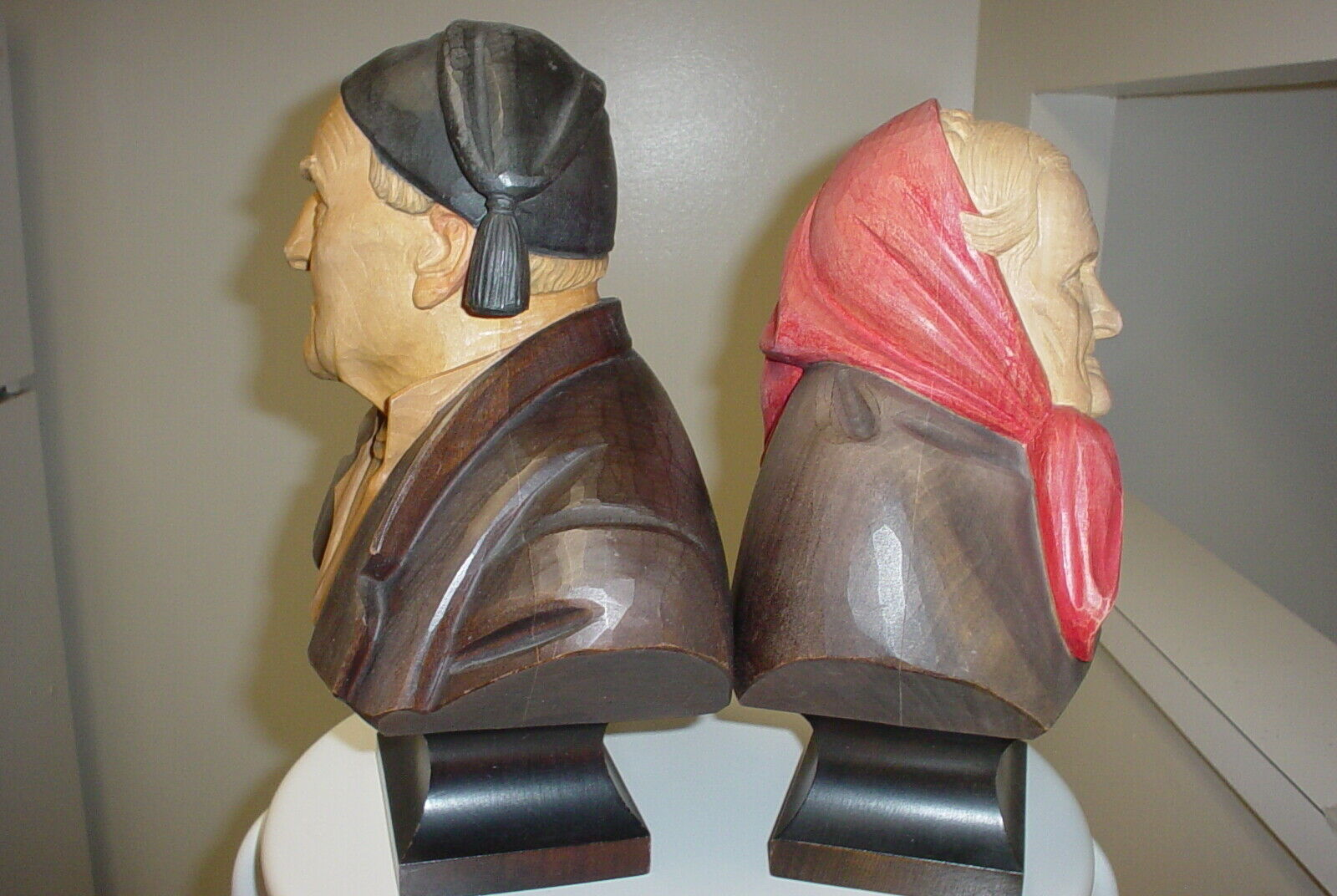 Two Carved Outstanding Quality Busts - $95.00