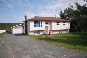 3-BED HOME ON 1/2 ACRE LOT! DRIVE-IN ACCESS TO NEW GARAGE IN CBS