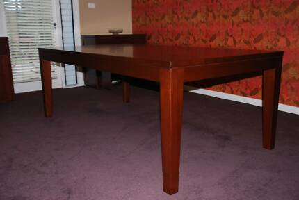Jarrah dining table & twin buffets
