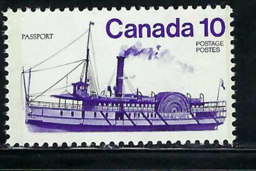 CANADA - SCOTT 701 - VFNH - INLAND VESSELS - PASSPORT - 1975